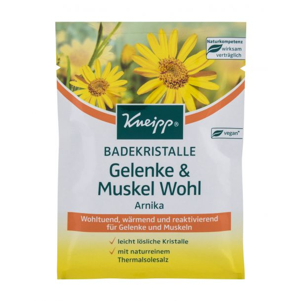 Kneipp Mineral Bath Salt Joint & Muscle Arnica Bath Salt 60gr