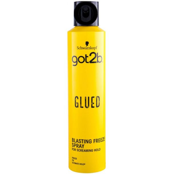 Schwarzkopf Got2b Glued Blasting Freeze Spray Hair Spray 300ml (Extra Strong Fixation)