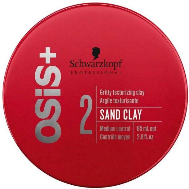 Schwarzkopf Osis+ Sand Clay Hair Gel 85ml (Medium Fixation)