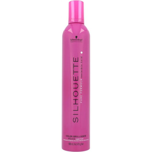 Schwarzkopf Silhouette Color Brilliance Hair Mousse 500ml (Strong Fixation)