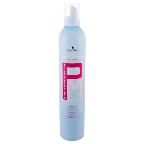 Schwarzkopf Professionnelle Super Strong Hold Hair Mousse 500ml Damaged Flacon (Extra Strong Fixation)