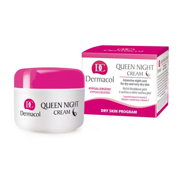 Dermacol Queen Night Skin Cream 50ml (For All Ages)