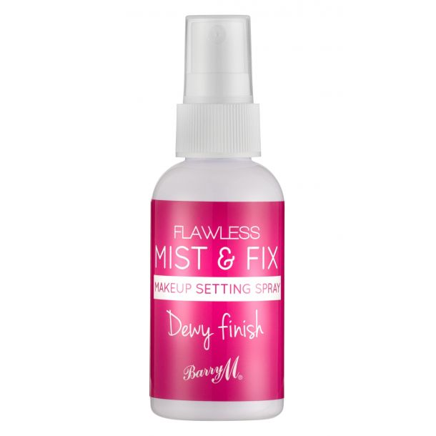 Barry M Flawless Mist & Fix Dewy Finish Make - Up Fixator 50ml