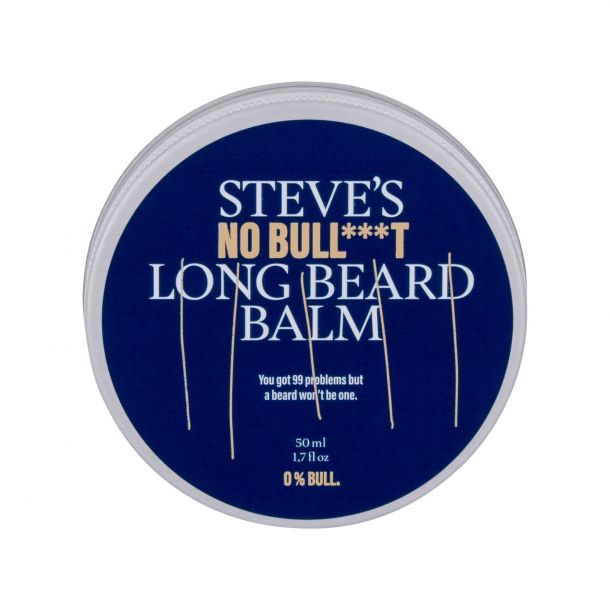 Steve´s No Bull***t Long Beard Balm Beard Wax 50ml