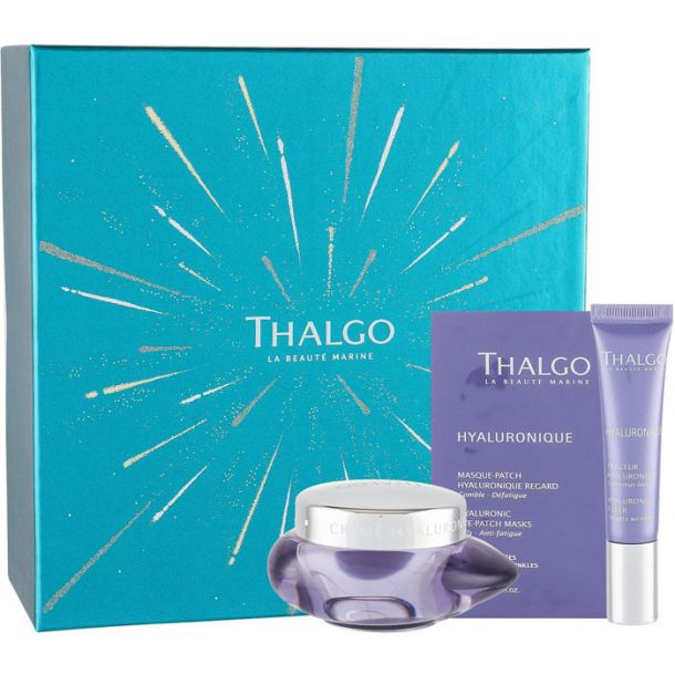 Thalgo Hyaluronique Day Cream 50ml Combo: Day Care 50 Ml + Skin Serum 15 Ml + Face Mask 4,5 Ml (First Wrinkles)