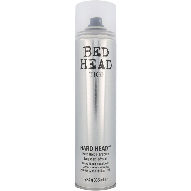 Tigi Bed Head Hard Head Hair Spray 385ml (Extra Strong Fixation)