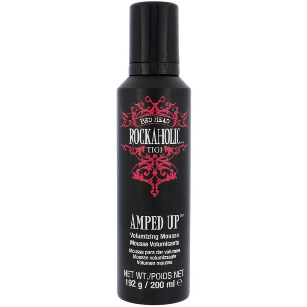 Tigi Rockaholic Amped Up Hair Mousse 200ml
