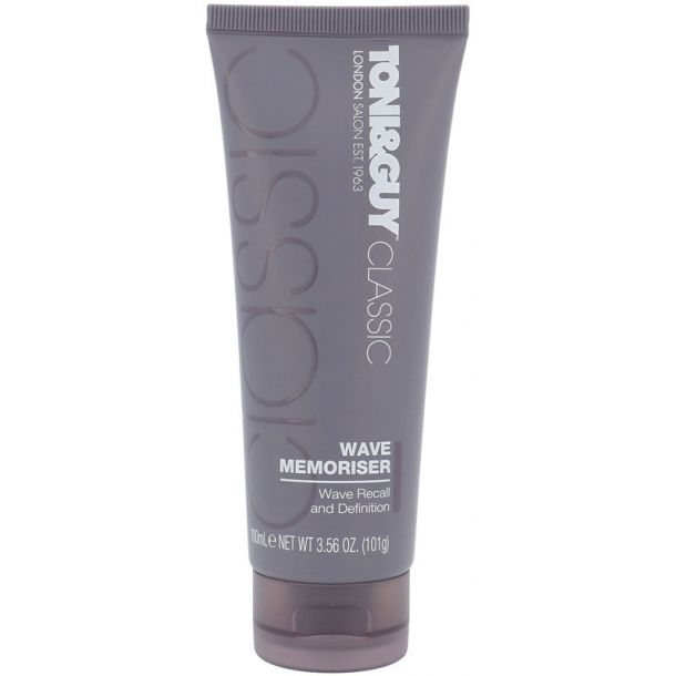 Toni&guy Classic Wave Memoriser For Definition and Hair Styling 100ml (Light Fixation)