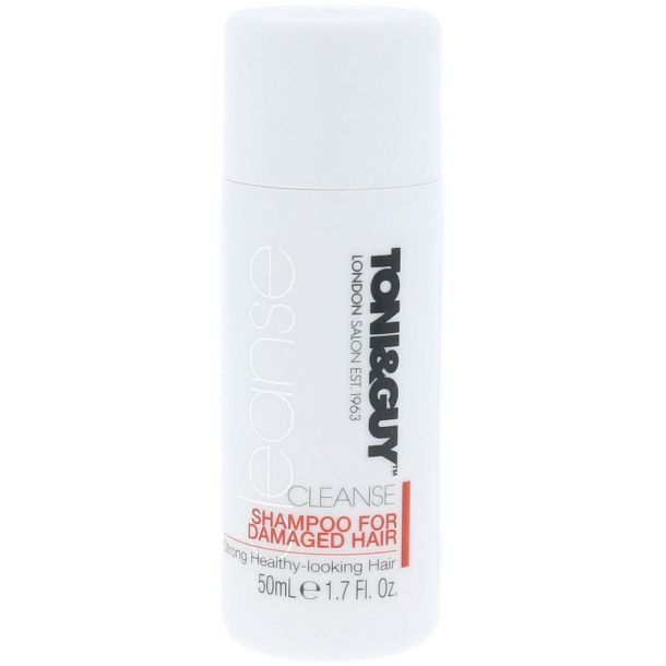 Toni&guy Cleanse Shampoo 50ml (Damaged Hair)
