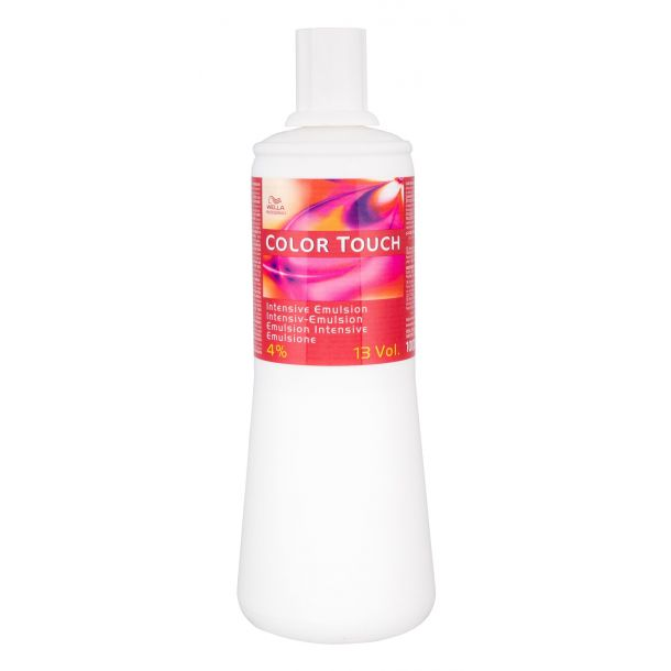 Wella Professionals Color Touch 4% 13 Vol. Hair Color 1000ml (Colored Hair)