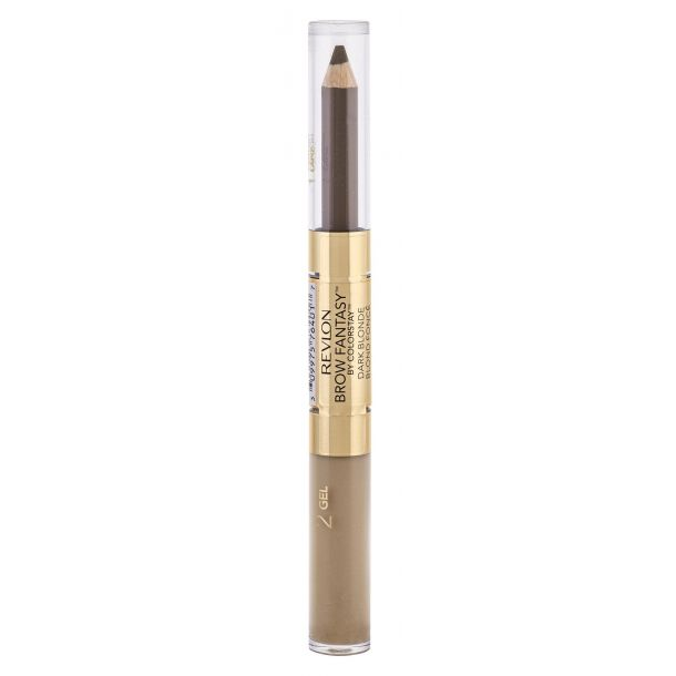 Revlon Brow Fantasy Pencil & Gel Set and Pallette For Eyebrows Dark Blonde 1,49gr