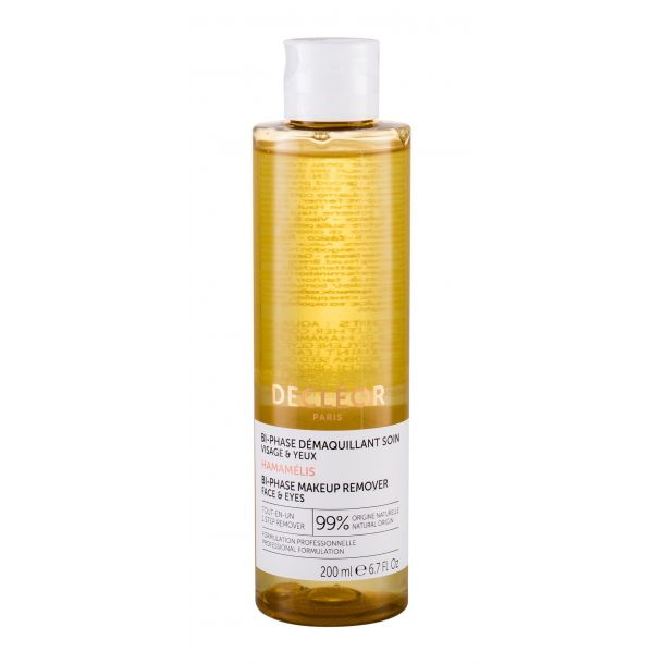 Decleor Aroma Cleanse Bi-Phase Makeup Remover Face & Eyes Face Cleansers 200ml (Bio Natural Product - Alcohol Free)