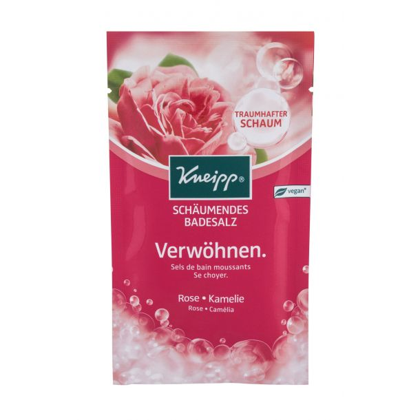Kneipp Bubbling Mineral Bath Salt Pamper Rose & Camellia Bath Salt 80gr