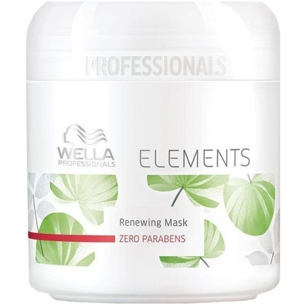 Wella Elements Hair Mask 150ml (Damaged Hair)