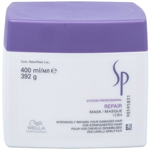 Wella SP Repair Hair Mask 400ml (Damaged Hair)
