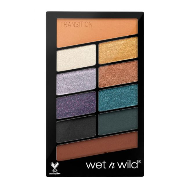 Wet N Wild Color Icon 10 Pan Eye Shadow Cosmic Collision 762C 10gr