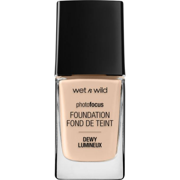 Wet N Wild Photo Focus Foundation DEWY Soft Ivory 1519E 28ml