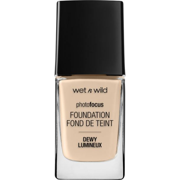 Wet N Wild Photo Focus Foundation DEWY Nude Ivory 1520E 28ml
