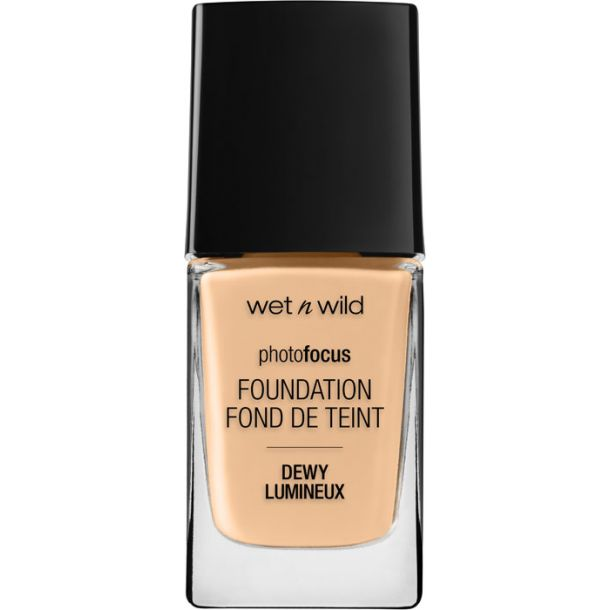 Wet N Wild Photo Focus Foundation DEWY Soft Beige 1522E 28ml