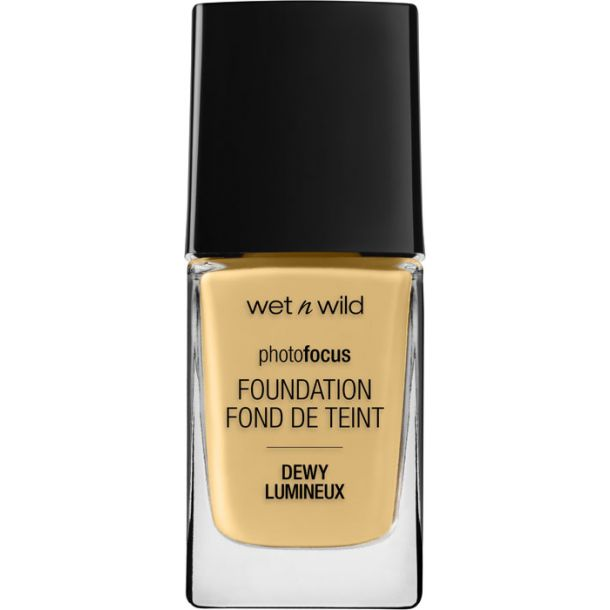 Wet N Wild Photo Focus Foundation DEWY Golden Beige 1524E 28ml