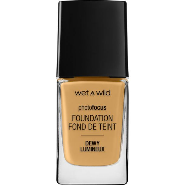 Wet N Wild Photo Focus Foundation DEWY Desert Beige 1528E 28ml
