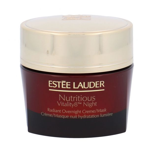 Estée Lauder Nutritious Vitality8 Night Radiant Overnight Creme/Mask Night Skin Cream 50ml (For All Ages)