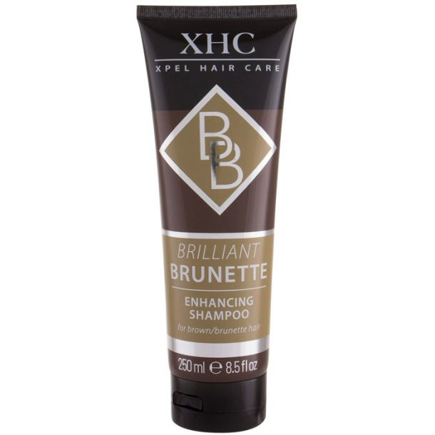Xpel Brilliant Brunette Shampoo 250ml (Colored Hair)
