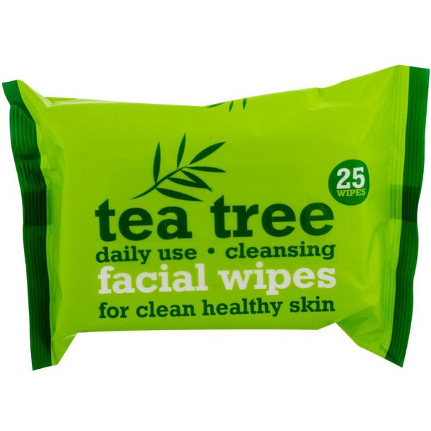 Xpel Tea Tree Cleansing Wipes 25pc