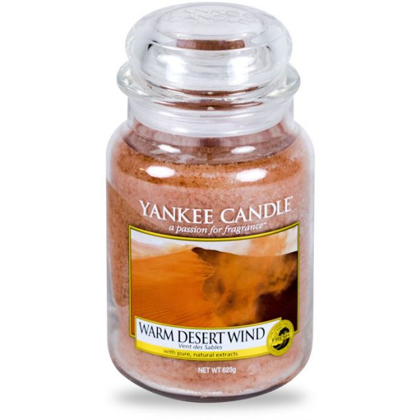 Yankee Candle Warm Desert Wind Scented Candle 623gr