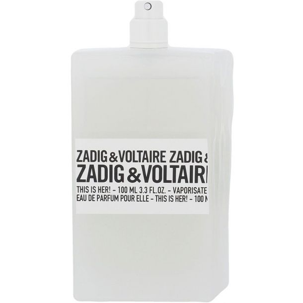 Zadig & Voltaire This is Her! Eau de Parfum 100ml Tester
