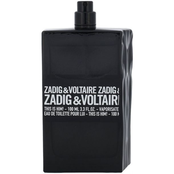 Zadig & Voltaire This is Him! Eau de Toilette 100ml Tester