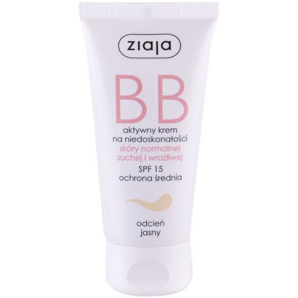 Ziaja BB Cream Normal and Dry Skin SPF15 BB Cream Light 50ml