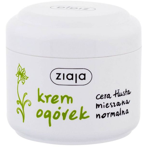 Ziaja Cucumber Day Cream 100ml (For All Ages)