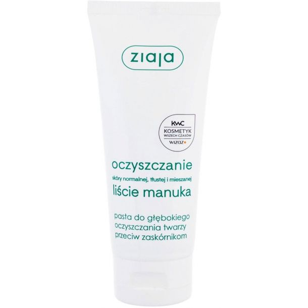 Ziaja Face Peeling Paste Manuka Tree Extract Deeply Cleansing 75ml