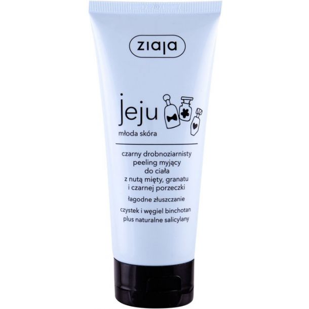 Ziaja Jeju Black Body Micro-Scrub Body Peeling 200ml