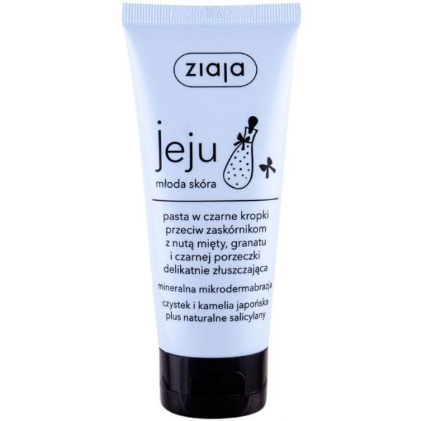 Ziaja Jeju Micro-Exfoliating Face Paste Peeling 75ml