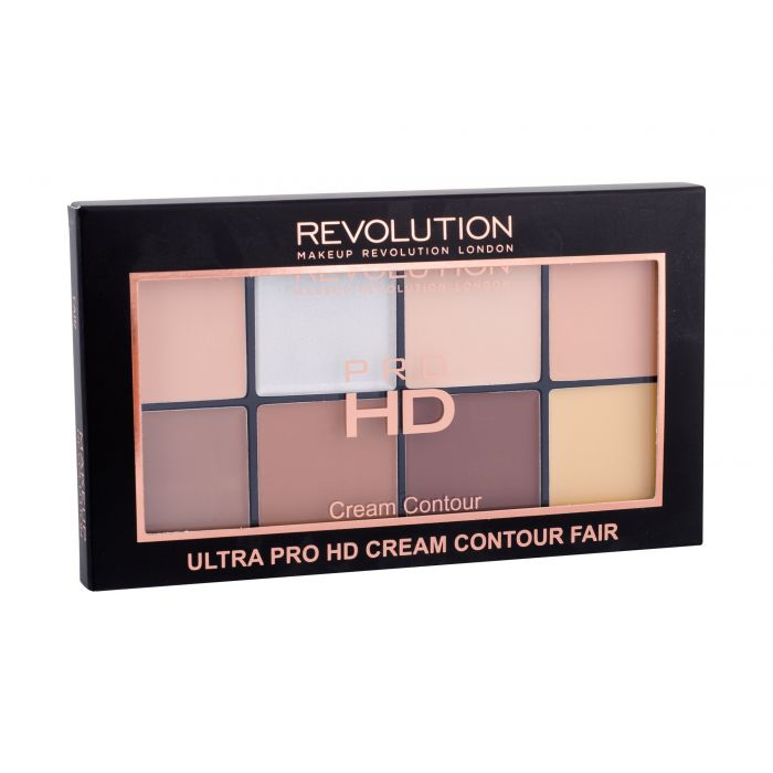 Makeup Revolution London Ultra Pro HD Cream Contour Palette Powder Fair 20gr