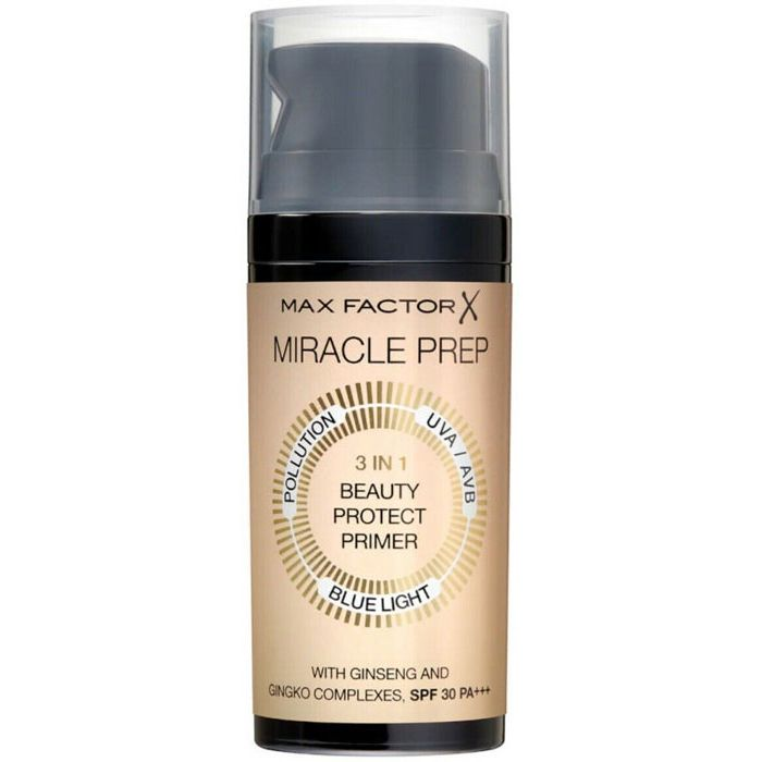 Max Factor Miracle Prep 3 in 1 Beauty Protect SPF30 Makeup Primer 30ml