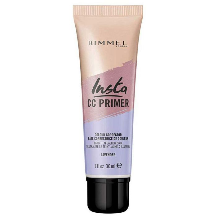 Rimmel London Insta CC Primer Makeup Primer Lavender 30ml