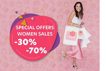 Women Special Offers 30%-70%